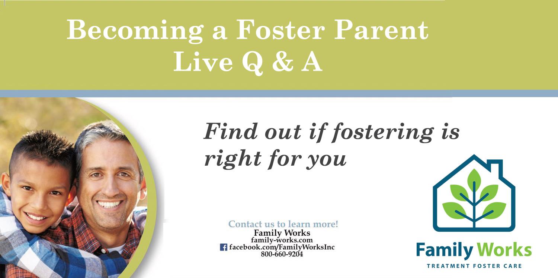 Becoming a Foster Parent Live Q & A